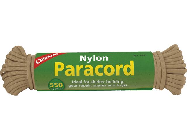 Coghlans Paracord 15,25m, tan